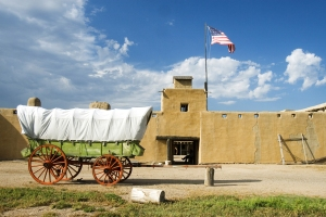 Bent's Old Fort holds historic charm. Photo by Matt Inden/Miles