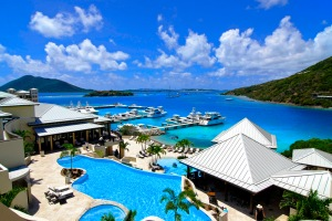 The view from Scrub Island Resort, Spa & Marina, BVI