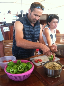 Greece, Cooking Demonstration