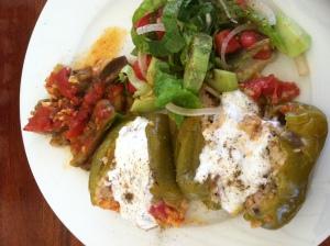 Dolma, Greek food
